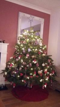 Decorated Sholach Tree from a happy customer
